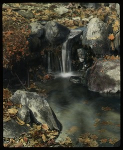 Thumbnail of Mount Toby Brook (water feeding a small pool)