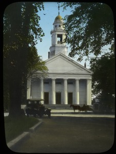 Thumbnail of White Greek-revival church