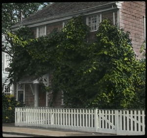 Thumbnail of  Nantucket (two story house with white picket fence)