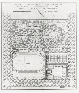 Thumbnail of South Framingham, Massachusetts, Dennison Recreation Park: Study for Development