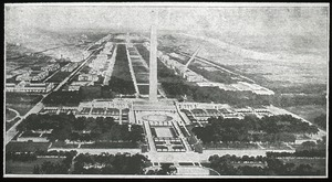 Thumbnail of General view of the Monument Garden looking towards the Capitol