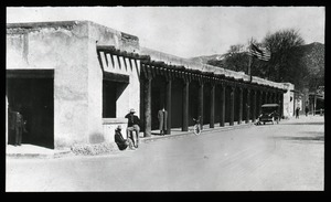 Thumbnail of Adobe building on western street