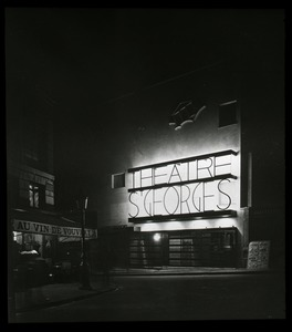 Thumbnail of Théâtre Saint Georges at night