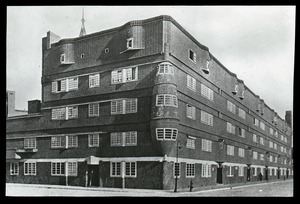 Thumbnail of Het Schip (functional style apartment building)