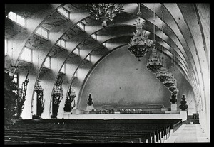 Thumbnail of Interior of unidentified auditorium