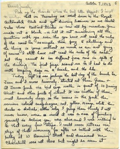 Thumbnail of Letter from Maida Riggs to Riggs family