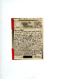Thumbnail of Letter from Katie Rose to Maida Riggs