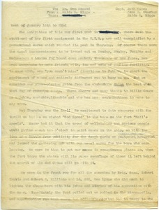 Thumbnail of Memorandum from Maida Riggs to Don Momand