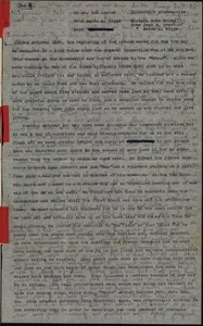 Thumbnail of Memorandum from Maida Riggs to Don Momand and letter to Riggs family
