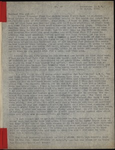 Thumbnail of Letter from Maida Riggs to Alfred D. Riggs and Winifred L. Riggs