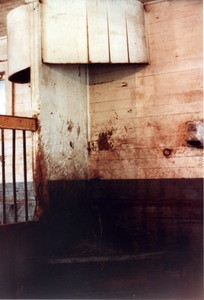 Thumbnail of Queen Anne Horse Barn interior: hay crib