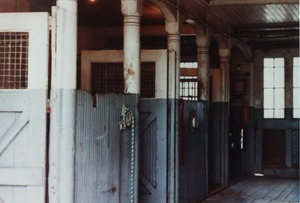 Thumbnail of Queen Anne Horse Barn interior: horse stalls