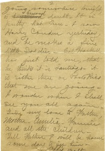 Thumbnail of Letter from Walter M. Dickinson to Joseph B. Lindsey