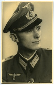 Thumbnail of Postcard of Wehrmacht officer