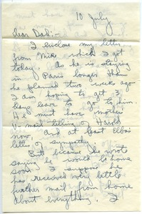 Thumbnail of Letter from Joseph Langland to Charles M. Langland
