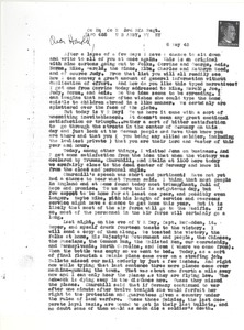 Thumbnail of Letter from Joseph Langland to Harold Langland