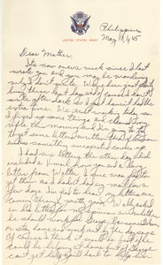 Thumbnail of Letter from Harold D. Langland to Clara M. Langland