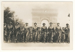 Thumbnail of American infantry, Place d'Etoile