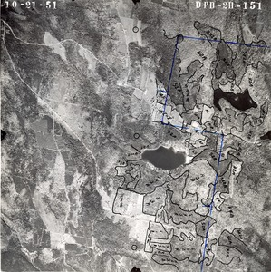Thumbnail of Hampshire County: aerial photograph dpb-2h-151