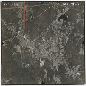 Thumbnail of Worcester County: aerial photograph dpv-7k-78