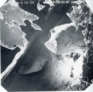 Thumbnail of Barnstable County: aerial photograph dpl-1mm-170