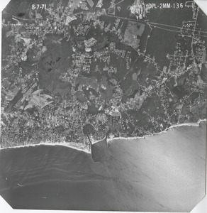 Thumbnail of Barnstable County: aerial photograph dpl-2mm-136