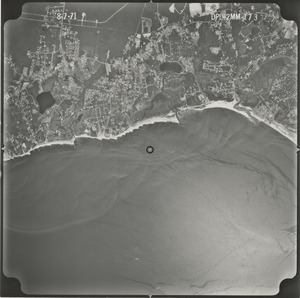 Thumbnail of Barnstable County: aerial photograph dpl-2mm-173