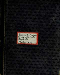 Thumbnail of Enfield Congregational Church (Enfield, Mass.) records