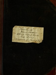 Thumbnail of Book of records of agreements, fence viewers etc. commencing November 22 1866 ; stray beasts and lost goods commencing June 1st 1873 ; Also liens