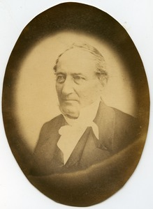 Thumbnail of Edward Tyrrel Channing: portrait in quarter profile of Harvard professor