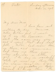 Thumbnail of Letter from Letitia Crane to Frank F. Newth