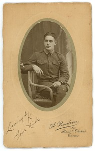 Thumbnail of Frank F. Newth in his army uniform