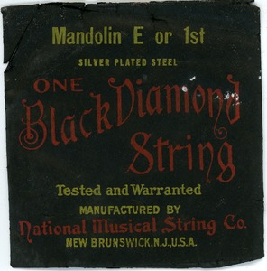 Thumbnail of Mandolin One Black Diamond String