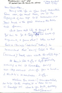 Thumbnail of Letter from Susan McCutcheon to Caleb and Hope Foote