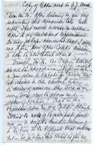 Thumbnail of Letter from Eleanor T. C. Foote to A. J. Muste