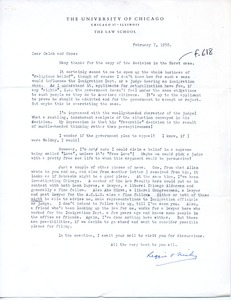 Thumbnail of Letter from Reginald A. H. Robson and Monica Robson to Caleb Foote