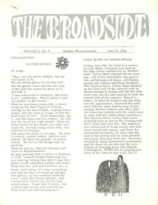 Thumbnail of The  Broadside Vol. 1, no.  8