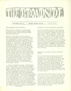 Thumbnail of The  Broadside Vol. 1, no.  11