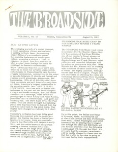 Thumbnail of The  Broadside Vol. 1, no.  12