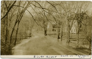 Thumbnail of Swift River, back of Farmer's Hall