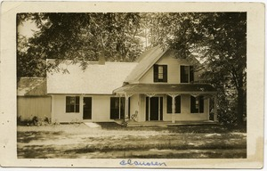 Thumbnail of Claussen [unidentified house]