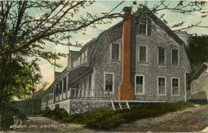 Thumbnail of Quabbin Inn, Greenwich, Mass.: Postcard from Ruth to Freeman Walker