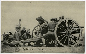 Thumbnail of Artillery in action
