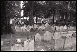 Thumbnail of Granary Burying Ground: view across the cemetery