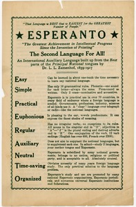 Thumbnail of Esperanto The second language for all!