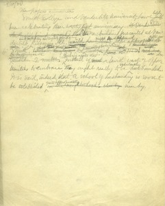Thumbnail of Comments on the 25th anniversaries of Smith College and Vanderbilt University