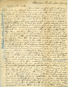 Thumbnail of Letter from Benjamin Smith Lyman, Ichinosawa, Shinsh?, Japan             to Mr. Lesley