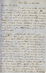Thumbnail of Letter from Benjamin Smith Lyman to J. Peter Lesley