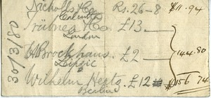 Thumbnail of Financial notes