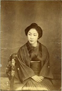 Thumbnail of Japanese woman seated